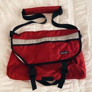 Patagonia Small Red Messenger Bag
